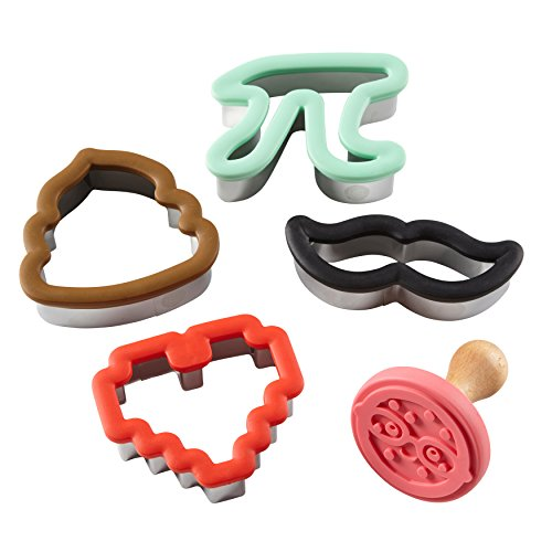 ROSANNA PANSINO by Wilton Nerdy Nummies Crazy for Cookies Set