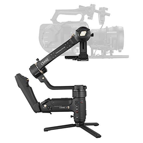 zhi yun Crane 3S 3-Achsen Handheld Gimbal Stabilisator für Dslr- und Mirrorlesse Kameras