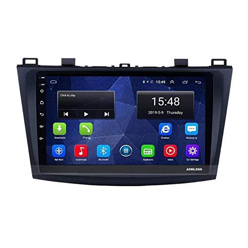 WY-CAR Reproductor Multimedia Estéreo De Navegación para Automóvil con Pantalla Táctil HD De 9 Pulgadas para Mazda 3 Sport 2011-2018, GPS/FM/RDS/Bluetooth/SWC/Mirror Link/Cámara De Visión Trasera