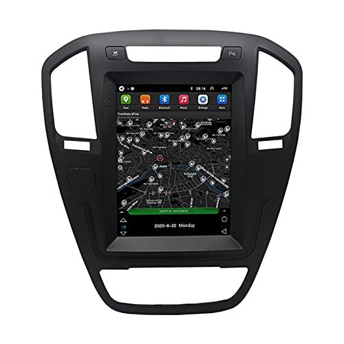 ADMLZQQ Android AutomáTico Radio EstéReo para AutomóVil Pantalla TáCtil HD Reproductor Multimedia Mp5 Host De NavegacióN GPS para Regal 2009-2013, con Manos Libres/FM/WiFi
