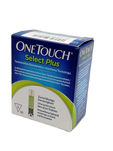 ONETOUCH SelectPlus Blutzucker Teststreifen 50 St