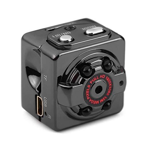 Mini KameraFull HD 1080P Tragbare Kleine Uberwachungskamera Mikro Nanny Cam mit Bewegungserkennung und Infrarot Nachtsicht Compact Sicherheit Kamera fur Innen und Aussen Mini