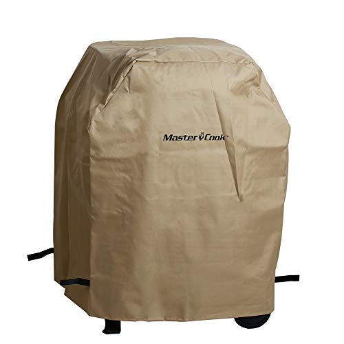 MASTER COOK Gas Grill Rain Cover, Heavy Duty Waterproof and Weather Resistant Oxford Fabric Cover 30.31'' L x 21.26'' W x 40.55'' H