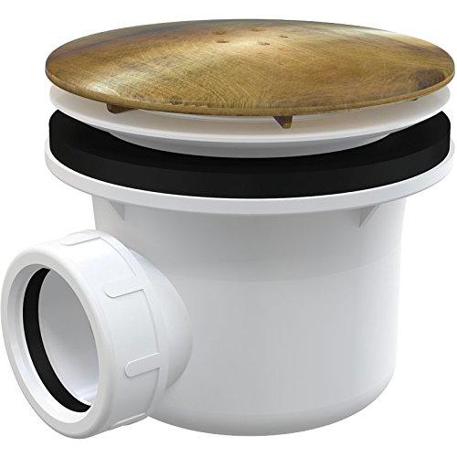 Antisch Brons antieke messing badkamer douchebak 90mm afvoer afval val