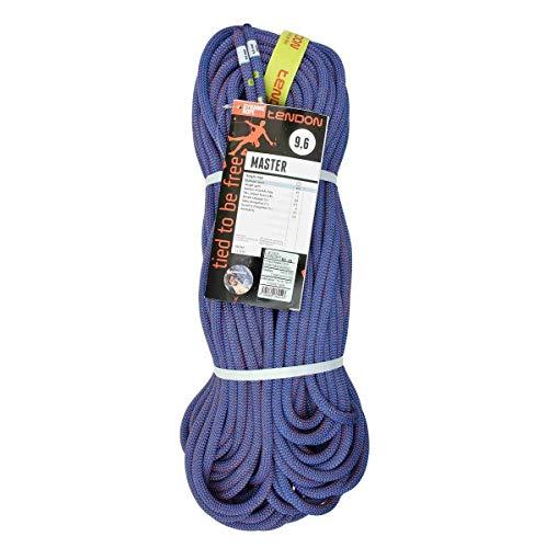 Tendon Master 9.6, Corda Singola Dinamica, Blu/Rossa, 80 m