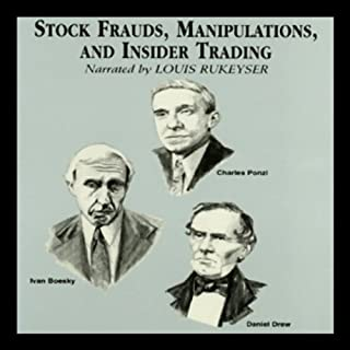 Stock Frauds, Manipulations, and Insider Trading cover art