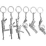 Gun Keychains, Toy Weapon Keychain Set, Gifts...