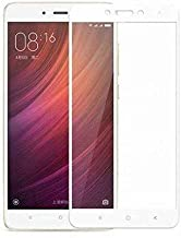 Clear Tempered Glass Screen Protector with White Frame For Infinix_Note 3 X 601
