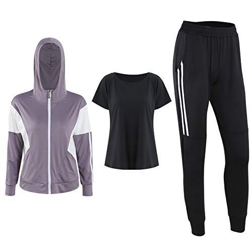 NIMIFOOL Yoga Pak Yoga pak ademende multi-piece combinatie sportschool trainingspak tennis trainingspak