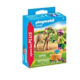 PLAYMOBIL- Special Plus Especial Niña con Pony, Multicolor (70060)