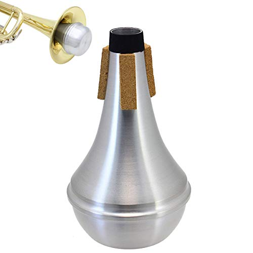 Honbay Lightweight Aluminum Practice Trumpet Mute Silencer for Jazz