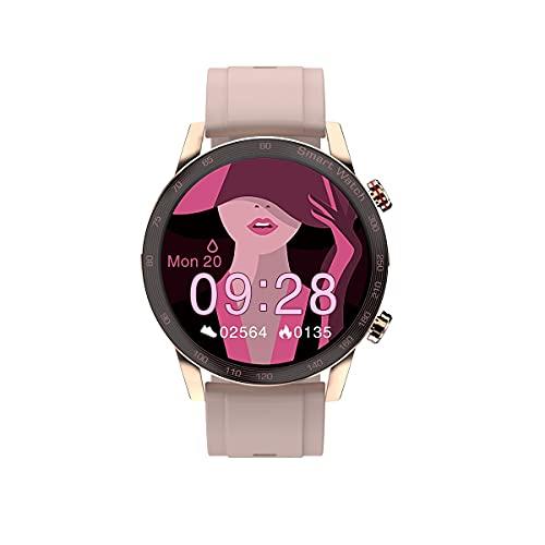 KaiLangDe Smartwatch Reloj Inteligente con Pulsómetro Cronómetros Calorías Monitor de Sueño Podómetro Monitores de Actividad Impermeable Reloj Deportivo para Pulsera (Color : D)