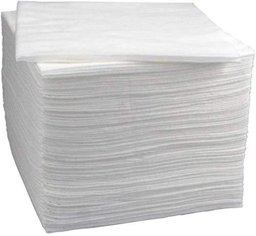 Cris nails 100unds Toallas Desechables peluquería/estética 40x80 Toallas secas Grandes en Papel Absorbente (40 * 80 cm)