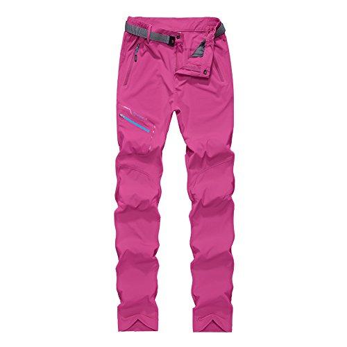 GITVIENAR Pantalon d'alpinisme Séchage Femme Rapide Mince Respirant Élastique Pantalon de Sport Homme pour Activités