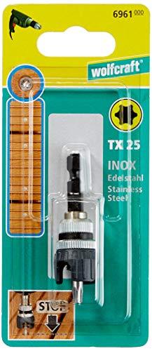 Wolfcraft 6961000 1 Schraubvorsatz für Terrassenbau