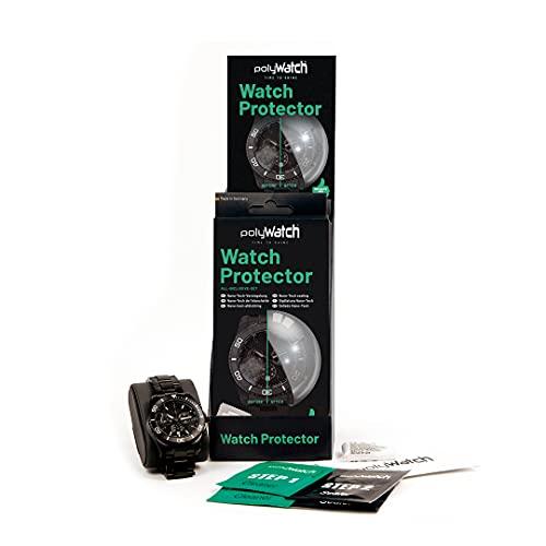 PolyWatch Watch Protector   Nano-Tech-Versiegelung   Glas Schutz   Uhrenglas