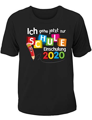 T-Shirt Einschulung/Schulanfang: Ich gehe jetzt zur Schule