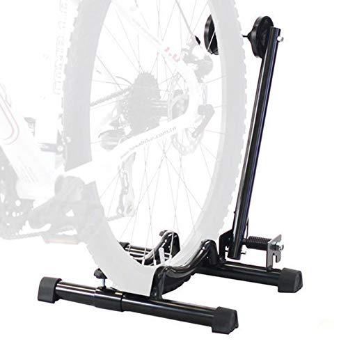 CyclingDeal Best Bike Floor Parking Rack Storage Stand Bicycle-for Mountain and Road Bike Indoor Outdoor Nook Garage