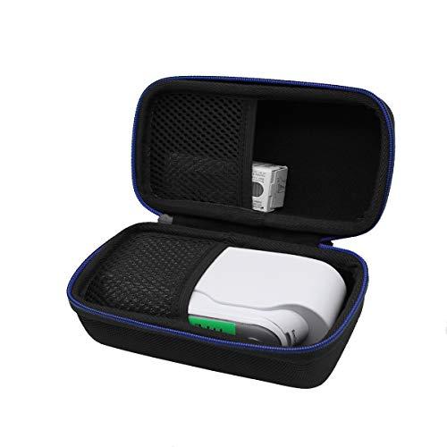 Hart Reise Tasche Case für Braun ThermoScan 7 Infrarot Ohrthermometer IRT6520/IRT6520B von GUBEE