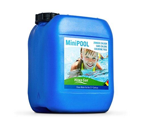 Huwa-San MiniPOOL chlorfreie All-in-One Wasser- & Poolpflege (Wasserstoffperoxid-Basis 7,9%, 5L bis 10m³)