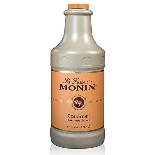 Monin - Gourmet Caramel Sauce, Rich and...
