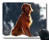 ゲーミング子犬犬マウスパッド、動物ペットセッター犬、犬マウスマット
