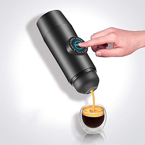 Máquinas Espresso, Cafetera Portátil, Minipresso, para Viajes o Senderismo Escalada Actividades