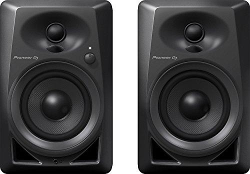 Pioneer DJ DM-40 Studiomonitore, schwarz