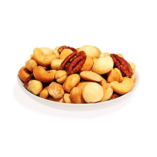 KERNenergie Nussmischung Australian Gold ohne Salz | 2x500g frisch geröstete Cashews, blanchierte Mandeln, Macadamias, Peknnüsse und blanchierte Haselnüsse