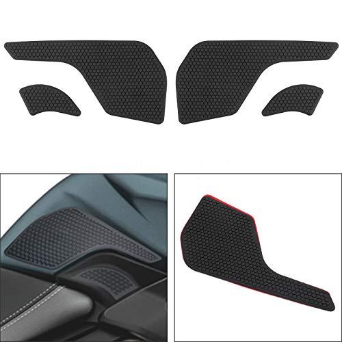 Artudatech - Agarres de tracción para tanque de motocicleta, almohadillas laterales compatibles con TRIUM-PH TIGER 800 XR/XRX/XRT XCX/XCA/XC 2015-2019