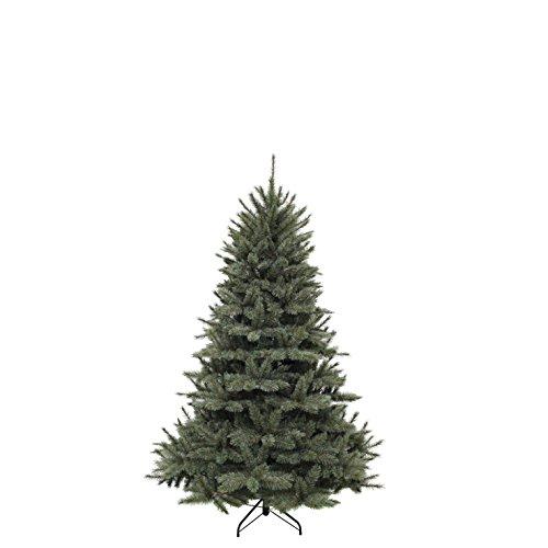 triumph tree 389395Forest Pino Abete Albero di Natale Artificiale, Aghi, Blu, 119x 119x 155cm