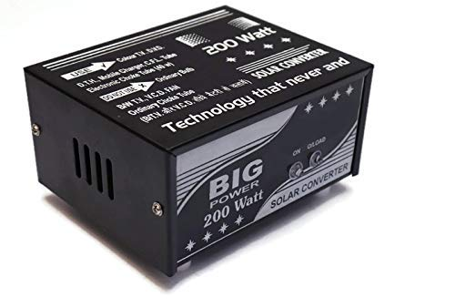 ERH India 200 W DC to AC Converter for Home, Car, Boat, Solar Panel, Color TV, Dth Box, Mobile Charger, CFL