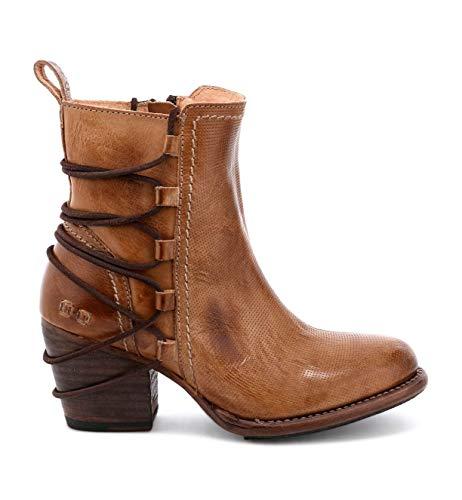 Bed|Stu Women's Blaire Short Boot (7, Tan Rustic)
