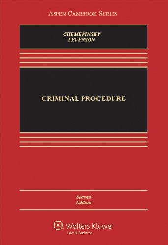 Criminal Procedure, Second Edition (Aspen Casebooks)