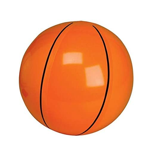 Rhode Island Novelty Inflatable Basketballs ~ 1DZ Basketball inflates ~ 16 inches ~ Sports Themed Birthday Favor ~ Decor Pool Beach Party Toy Pze New ~ BEACHCBALLS!!