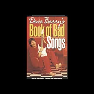 Dave Barry's Book of Bad Songs audiobook cover art