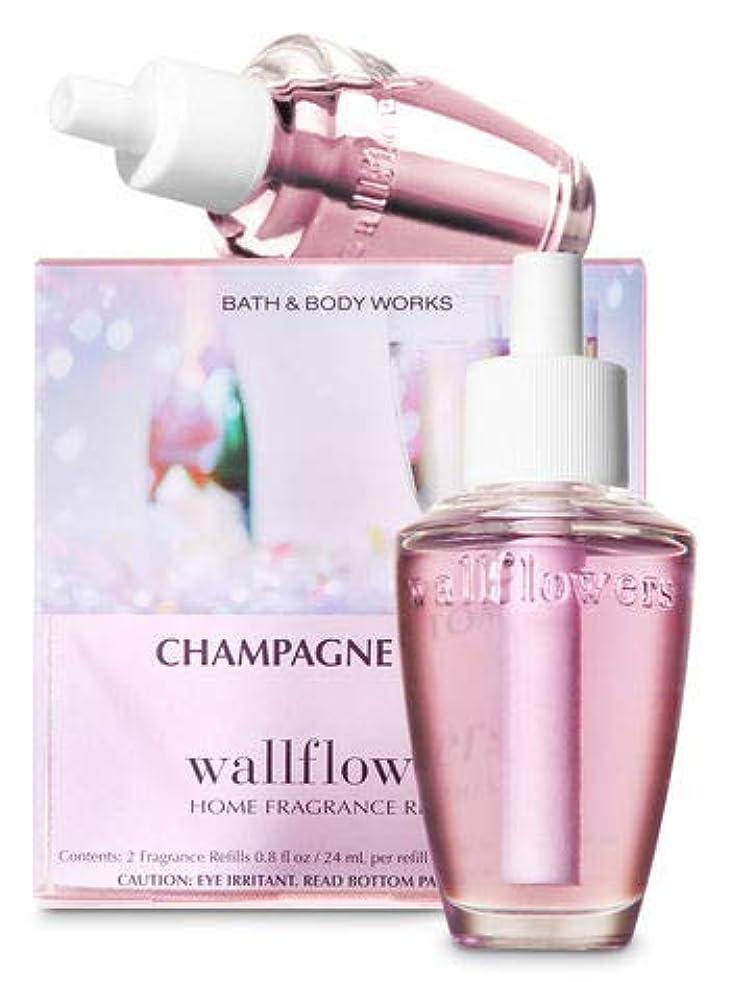 職業慈悲深い分類する【Bath&Body Works/バス&ボディワークス】 ルームフレグランス 詰替えリフィル(2個入り) シャンパントースト Wallflowers Home Fragrance 2-Pack Refills Champagne Toast [並行輸入品]