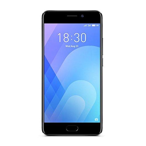 "Meizu M6Note - Smartphone de 5.5"", Snapdragon 625 Octacore 2GHz RAM de 3 GB/4GB, camara de 12 MP, Android. negro"