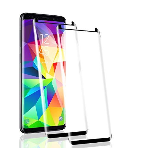 RSSYTZ [2 Stück Panzerglas kompatibel mit Samsung Galaxy S8 Schutzfolie, 9H Härte, Anti-Kratzen, Anti-Fingerprint, HD Klar, Samsung Galaxy S8 Panzerglasfolie