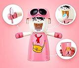 Rain House Porte-Brosse à Dents pour Enfants avec gobelet, Mignon Mains Libres Distributeur de Dentifrice Children Automatique...