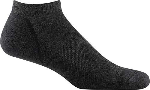 Darn Tough Style 1990 Mens No Show Lightweight with Cushion Hike Trek Sock black Large