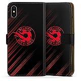 Étui Compatible avec Apple iPhone XS Max Étui Folio Étui magnétique Diables Rouges Produit sous...