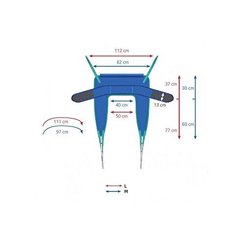 """41ILYjx935L - Ayudas dinamicas - Arnés de ajuste rápido """"fast-fit"""", talla mediano"""