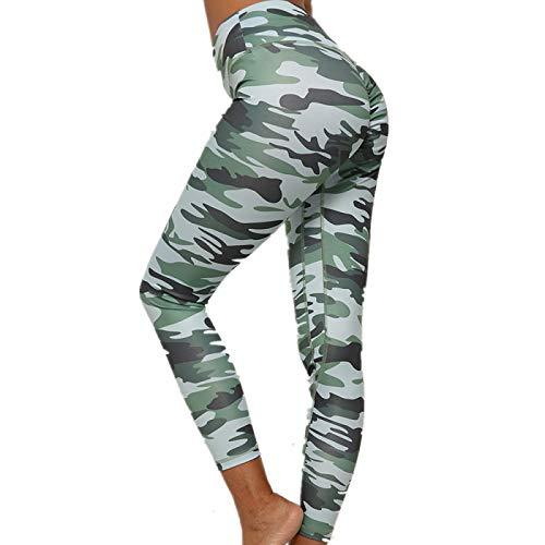 NIGHTMARE Control de Abdomen para Mujer Sensación Desnuda Cintura Alta Pantalones de Yoga Ajustados Entrenamiento Leggings de Gimnasio Entrenamiento para Mujer Correr S
