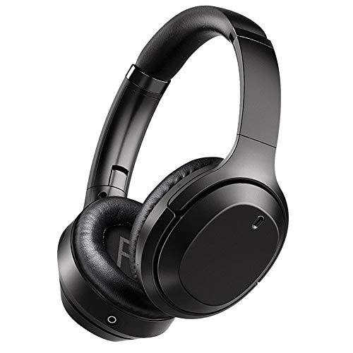 Bluetooth Headphones, 12 Hour Playing Time Stereo Foldable Over-Ear Headset with Microphone, for Gaming, Office