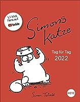 Simons Katze Tagesabreisskalender - Kalender 2022