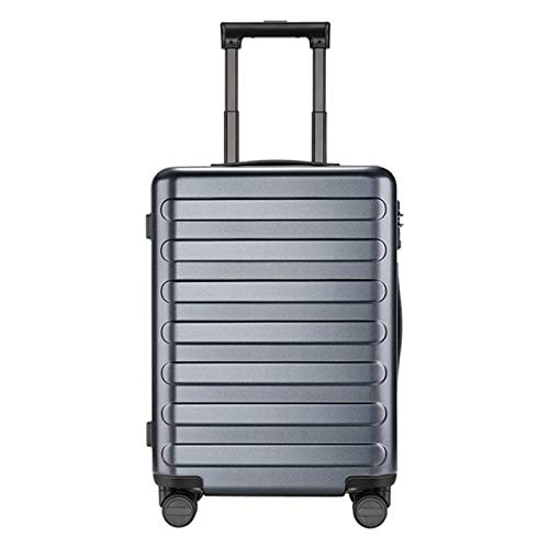 Mdsfe 90FUN 20 24 inch Set Carry On Luggage Spinner Lightweight Hardshell Suitcase with TSA Lock for Travel Business Black - Titanium Gray, a1,24 inch