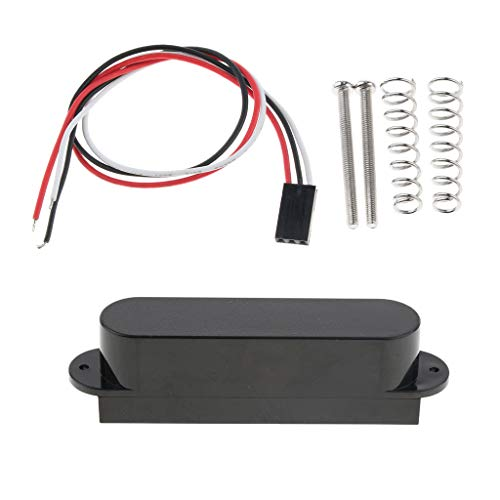 Closed Single Coil Active Pickup for Fender Strat Electric Guitar Musical Instrument Parts - Black,...