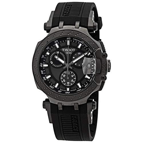 Tissot Herren-Uhren Analog Quarz One Size Kautschuk 87607682