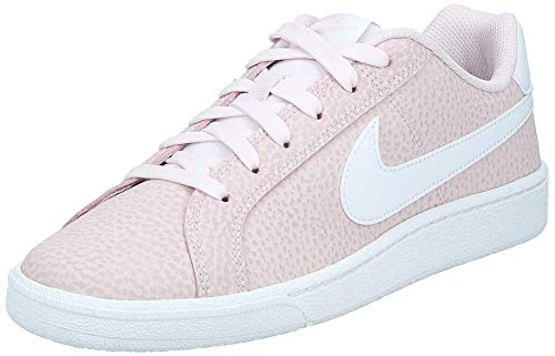 Nike Womens Court Royale Premium Sneaker, Barely Rose/White-Plum Chalk, 40.5 EU